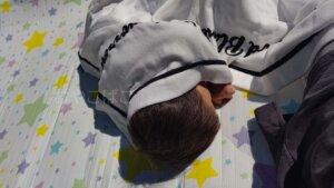 ガーゼケット ピクニック 屋外 ハーフサイズ 西川 リネン 寝具