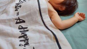 ガーゼケット 赤ちゃん 昼寝 寝室 ハーフサイズ 西川